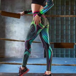 2020 Fitness Leggings High Waist Women Sexy Workout Push Up Legging Casual Print Bodybuilding Pants Jeggings Women Trousers