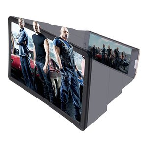 F2 vergrößerter Bildschirm HD Lupe 3D Glas Verstärker Video klappbaren tragbaren Konsole Magic Box für Universal Mobile Handy iPhone Samsung