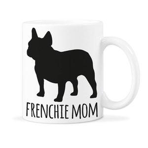 프랑스 불독 머그컵 프렌치 엄마 커피 머그컵 프렌치 개