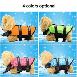 Neue Heimtierbedarf Schwimmweste Sicherheitskleidung Weste Schwimmanzug XS-XL Outdoor Haustier Hund Float Doggy Schwimmweste Westen