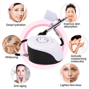Facial SPA pulverizador Máquina Nano Señor vapor de la cara aerosol de agua facial rejuvenecimiento de la piel por inyección de oxígeno Nebulizador salón de belleza
