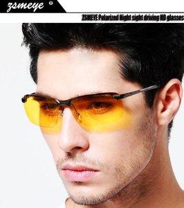 ZSMEYE Polarized Night sight driving HD glasses Night Vision Goggles Glasses sun Eyeglasses Glareproof Sunglasses