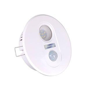 Geagood Menschliche Körper-Sensor-Licht LED-Infrarot-Sensor-Lampe 7W Einbauleuchte für Stairway Korridor Aisle Balkon