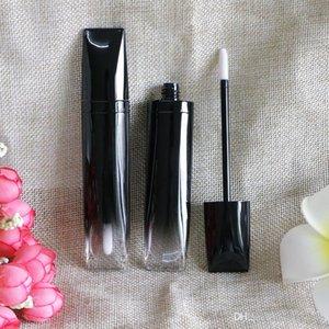 5ml Gradient Black Lip gloss Plastic Box Containers Empty Lip gloss Tube Eyeliner Eyelash Container Mini Lip Gloss Split Bottle