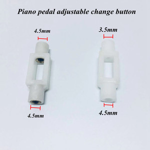Piano tuning accessories 4 PCS in the pedal adjustment head connection head variable buckle size head Piano parts
