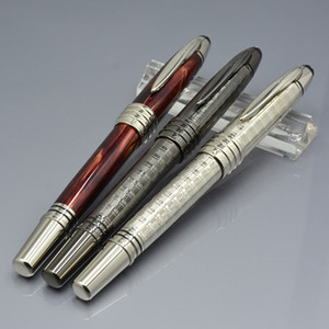 Stylos à bille en métal de luxe Édition limitée avec JFK Sculpture Clip école bureau papeterie MB marque stylos cadeau cadeau avec numéro de série