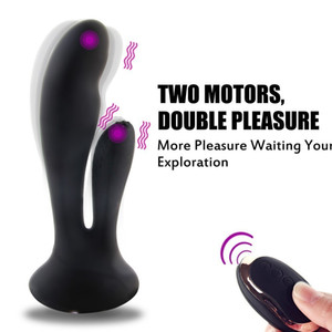LOAEY 100% Waterproof Dildo Vibrator For Women Wireless Remote Control Female G Spot Anal Prostate Massager Adult Sex Toys Y200616