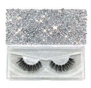 Eyelashes Real 3D Mink Lashes Luxury Hand Made Mink Eyelashes Medium Volume Cruelty Free Mink False Eyelashes Upper Lashes