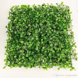 gazon artificiel en plastique faux herbe pelouse 25 * 25 cm 30 pcs
