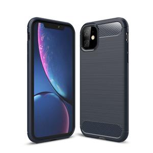 Углеродного волокна чехол для iPhone 11 12 Pro Mini X Xr Xs Max 6 6S 7 8 Plus телефон Обложка для Samsung S20 S10 Ультра S10e S9 Plus S8 Примечание 20 10 9 8