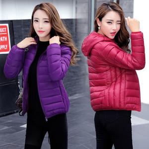 GODLIKE Damen Art und Weise beiläufige reine Daune jackehin Körper / 2019 Damen arbeiten und abspecken Jacke