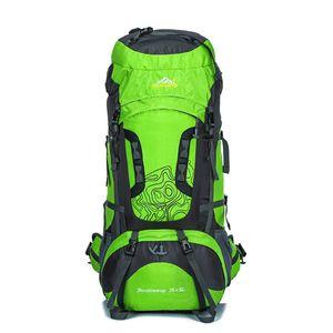 Borsa da viaggio Outdoor 80L grande capacità di arrampicata escursione di campeggio Zaino Specialized Trekking Zaino regolabile Carring sistema
