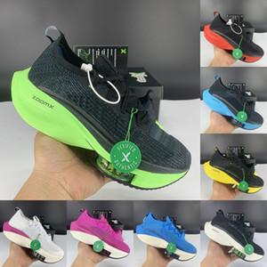 موضة جديدة التكبير ألفا الأحذية الكاجوال٪ المقبلة الأسود الكهربائية الأخضر ولدت جولة الرجال فولت صفراء بيضاء اللون البرتقالي ذبابة النساء أحذية رياضية مع مربع