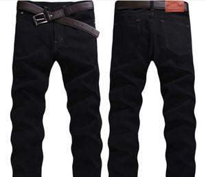 Männer beiläufige Qualitäts-Slim Fit Hose Elastische Mann-Jeans Art und Weise klassische Denim dünne Jeans Männer Four Season New Style