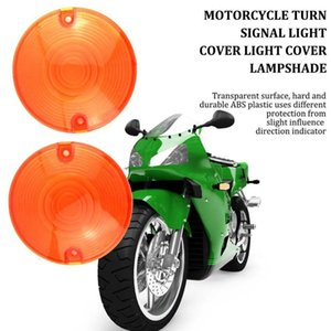 2Pcs Cycle Motorcycle Turn Signal Lights Indicator Lens Cover Case For Style Turn Signal Light Lens