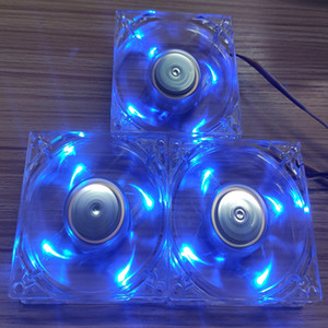 3 팩 COOLER MASTER A8025-18CB - 50 억-L1은 80mm X 25mm 12V 0.21A, LED 블루 레이 무 브러시 팬, 원래 장비 제조 업체 OEM 부품을 냉각