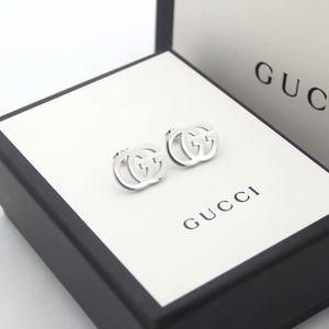 2020 pendientes simples de alta calidad Color dorado Acero inoxidable perla G pendiente oro plata pendientes para mujer joyería de fiesta de boda