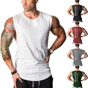 Hirigin Moda Uomo Camicie maniche slim fit casuale parti superiori di estate Abbigliamento Bodybuilding Muscle Tee