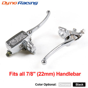 """Motorcycle 7 8"""" 22MM Handlebar Master Cylinder Hydraulic Brake Control With Clutch Lever"""