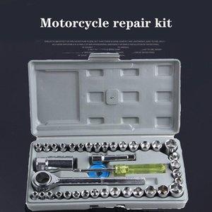 Auto E Moto strumento insieme del manicotto 40 pezzi del motociclo Tool Set di calore totale di trattamento di precisione di lucidatura non deformati 1 Set