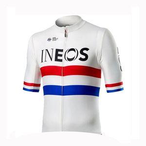 2020 Ciclismo Maglia della squadra INEOS Uomini traspirante a manica corta bicicletta camicia strada della bicicletta supera sportivo outdoor abbigliamento da corsa Y20061202