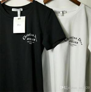 Yaz Sokak giyim Avrupa Paris Made Moda Kısa Kollu Yüksek Kalite Pamuk t gömlek erkekler Kadınlar için Tee baskı tshirt