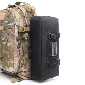 Тактические сумки Molle талии пакет Регулируемая Прочный портативный Sundries сумка для хранения на открытом воздухе Спорт Обучение Хранение Tactical Чехол DS0597 CY