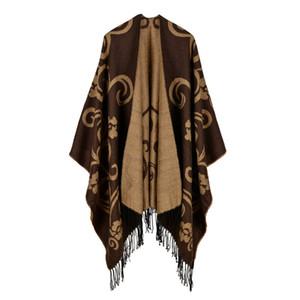 Autunno e Inverno nuovi scialli di lusso di alta qualità come il cashmere avvolge Pashmina di modo delle donne Classic Sciarpe