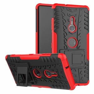 Pour Sony Xperia XZ3 Antichoc Armure Silicon Téléphone Cas