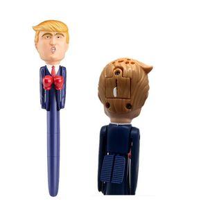 Дональд Трамп Говоря Pen Первая леди Хиллари 2020 Кандидаты бокса Pen Stress Relief Президент Pens Америка Великий Фанни игрушки Подарочные E11403