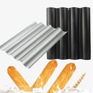 Антипригарная форма для выпечки хлеба пресс-формы волны хлеб выпечки прессформы DIY волна Бейкер лоток волны багет Stick варочной KKA7913 инструмент