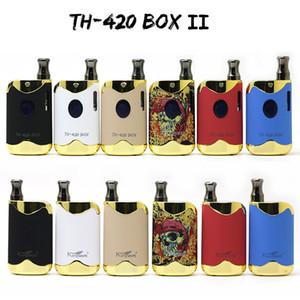 Orijinal Kangvape TH-420 II Vape Kiti E Sigara Kutusu Mod Setleri 650 mAh Değişken Gerilim Pil 6 Renkler TH420 Otantik