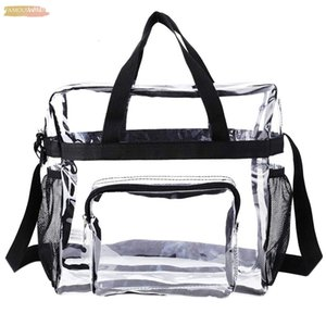 Transparent Tote Bag Stadium Security Travel And Cover Gym Clear Bag, See Through Tote Bag For Work, Sports Games And Concerts