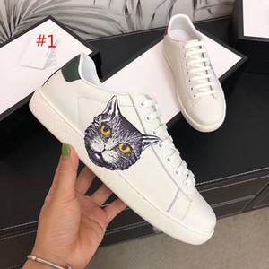 Original Box Neue Designer Herren frau Schuhe Mit Top Qualität Frauen Designer Sneaker Mann Casual Ace Schuhe Tier früchte muster Größe 35-45