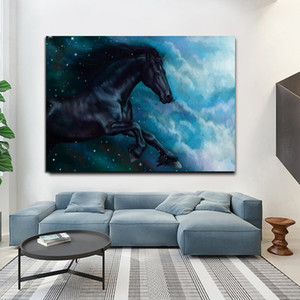 -.37- Horse Animal Home Decor Handpainted &HD Print Oil Painting On Canvas Wall Art Canvas Pictures 200