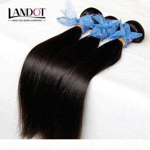 3Pcs Lot Filipino Virgin Hair Straight Unprocessed Virgin Filipino Hair Extensions Cheap Remy Human Hair Weaves Bundles Tangle Free Can Dye