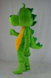2019Hot vendita Barney Dragon Mascot costumi su misura per adulti Barney dinosauro mascotte costume