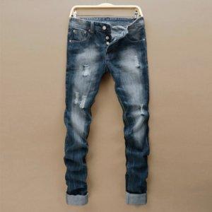 pantaloni in denim tessuto moda vestido homme pantalones mens jeans