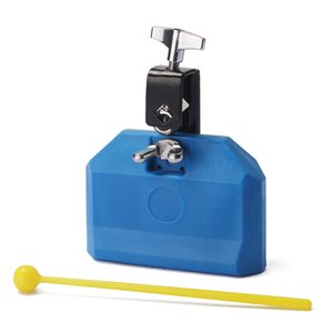 Durable Blue Eco-friendly Plastic Percussion Instruments Jam Block Latin Drum Kit