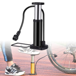 Bike Bicycle Accessories Cycling Mini Floor Foot Activated Bicycle Air and Aluminum Alloy Portable Pump Mountain Bike Tire Pump Com