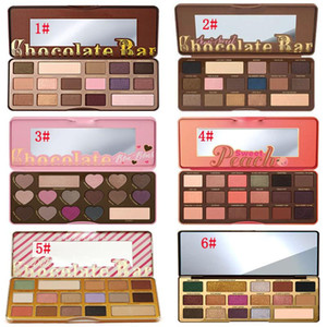 NOVITÀ Makeup 16 Colour Eyeshadow Palette with tooFAce Chocolate Bar Semi-Sweet Bon Bons Sweet Peach White Gold Bar Metallizzato