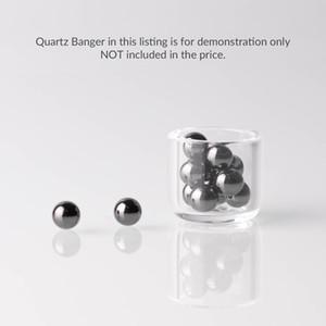 Sic ball environ 5mm Insert de boule de perle de sphère de carbure de silicium de sphère pour 10mm 14mm 18mm Quartz bangs de verre d'ongle