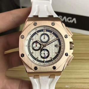 royal oak 26400so. orologio OO.A002CA.01, orologi di lusso high-end, royal oak, offshore.Dial diametro 42 mm, guardare lo sport watch3A meccanica