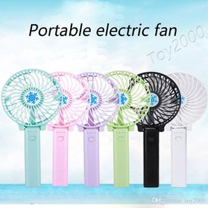 Summer Mini Fan Portable Hand Held Desk Humidification Mini Cartoon Fan Compact And Lovely Delicate Mini Hand Fan with battery kids toys