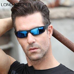 Heißen Verkaufs-Männer polarisierte Sonnenbrillen Men Night Vision Sonnenbrille UV400 Schwarz-Rahmen Sportbrillen Unisex Driving Brillen