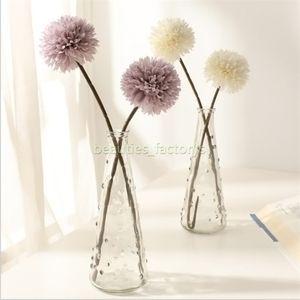 인공 국화 공 꽃 꽃다발 레스토랑 홈 오피스 테이블 장식 가짜 꽃 5 색 총 길이 32 센치 메터