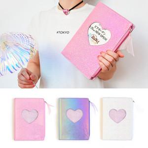 1 pz Kawaii copertura Planner Notebook Harajuku girl stile del libro del diario di esercitazione composizione legante nota notepad regalo cancelleria