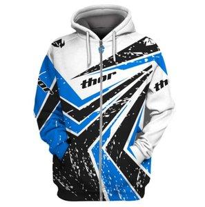 THOR 2020 new fleece warm sweater trendy hot model motorcycle outdoor riding racing suit sweater jacket