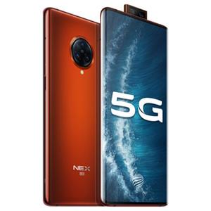 "Original VIVO Nex 3S 5G Mobile Phone 12GB RAM 256GB ROM Snapdragon 865 Octa Core 64.0MP Android 6.89"" Full Screen Fingerprint ID Cell Phone"