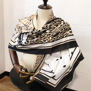 Fashion and beauty Four Seasons Silk scarf brand double-sided printing design scarf size 180*68cm scarf